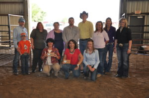 Faculty/Staff Showmanship Division participants