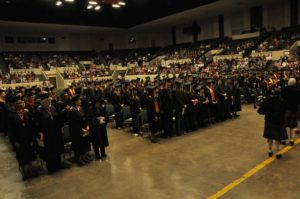 The 103rd Commencement ceremony was held at the Muskogee Civic Center.