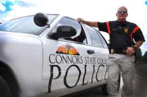 James Mendenhall brings over 20 years of law enforcement experience to Connors State College