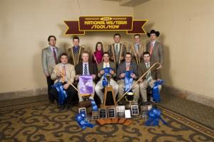 2013 College Livestock Judging