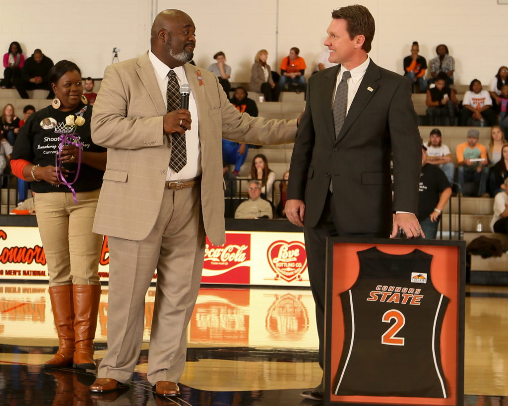 McHenry Jersey Retirement