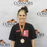 3rd High Individual, Senior Land Judging Samantha Gillion – Spiro FFA