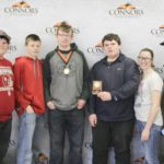 3rd Place Agronomy – Broken Bow FFA Left to right: Jared Hartley, Nathan Short, Kevin Talley (2nd High Individual), Nathaniel Bice, and Ashlin Flowers.