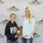 1st Place Floriculture – Byng FFA Left to Right: Alexis Hise and Tanna Frizzell. Not pictured Justin Williamson and Rhyann Case.