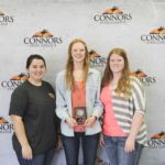 3rd Place Floriculture – Kingfisher FFA Left to right: Madison Stuckey, Morgan Yost and Jill Newer.