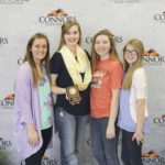 3rd Place Food Science – Kingfisher FFA Left to Right: Kenzie Smith, Jaryn Frey, Trena Adams, and Chloe Lack.