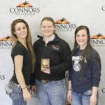 3rd Place Agricultural Communications – Morrison FFA Left to Right: Ali Bowman, Morgan Dennis, and Kallie Eyster.
