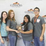 2nd Place Vet Science – Cossatot River FFA (Arkansas) Left to Right: Kristin Mayo, Savannah Frachiseur, Olivia Delgado, and Eduardo Medina (2nd High Individual).