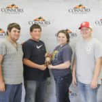 5th Place Junior Land Judging – Eufaula FFA Left to Right: Tra Abreo, Zack Dozier, Rylee Battles and Christian Nester.