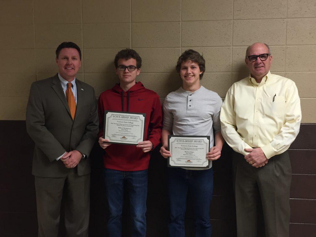 Science Fair Scholarship Winners