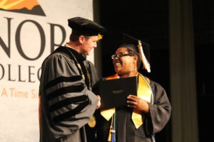 Student Graduating 3