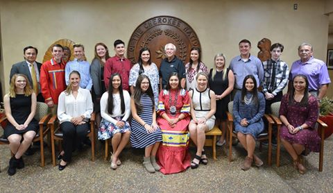 Cherokee youth council