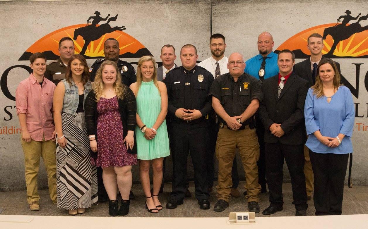 PLC Law Enforcement Appreciation Ceremony