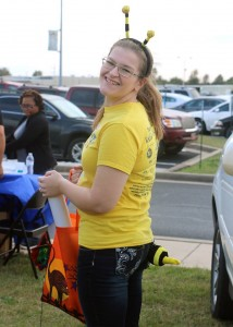 Amanda helping with Connors Fall Festival 2014