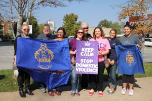 PTK marches against Domestic Violence 2014